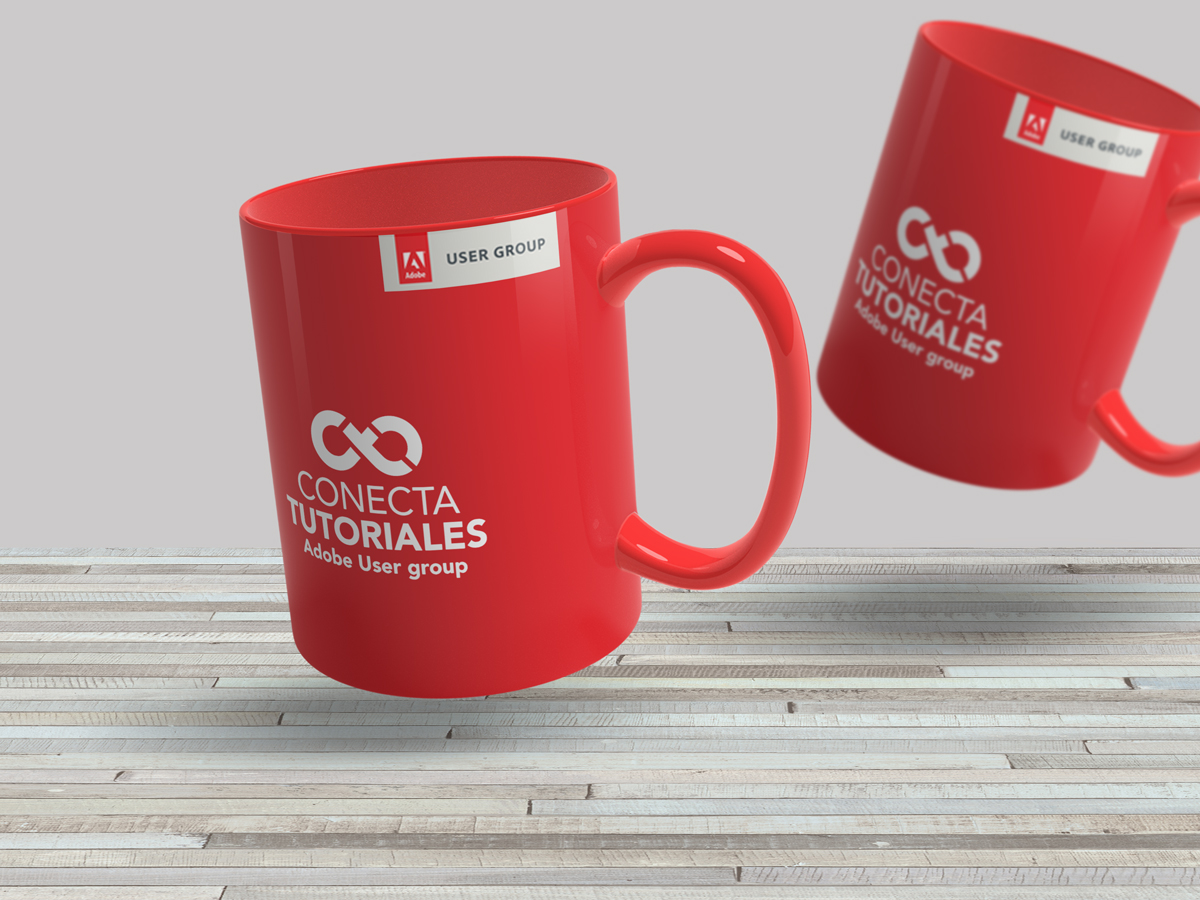 Conecta Tutoriales Adobe User Group Mug