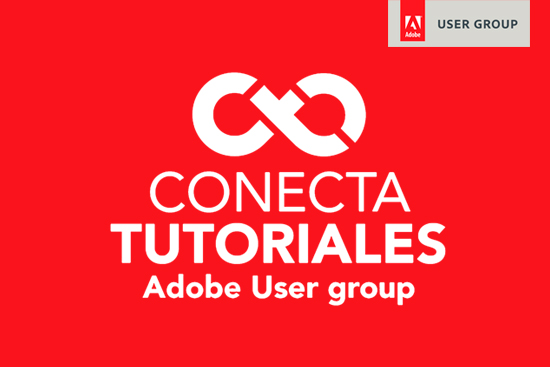 Conecta Tutoriales Adobe User Group España Logo